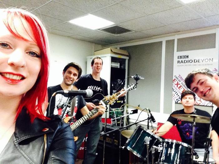 1. At Radio Devon