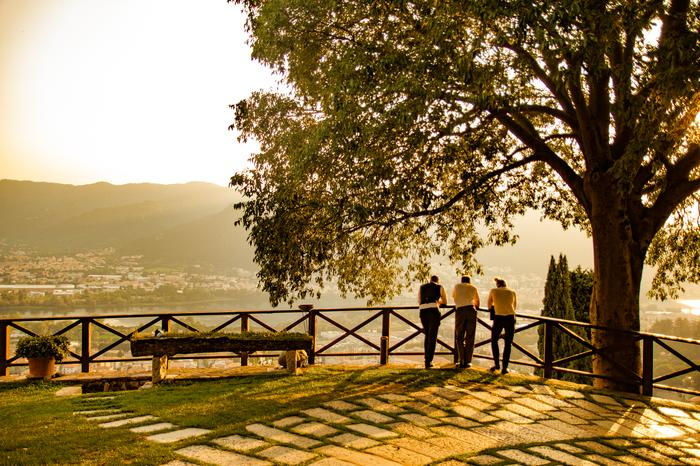 5. Go Commando - Lake Como, Italy