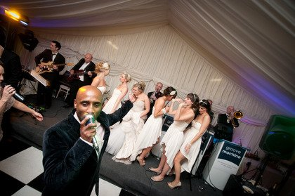 Groove Machine : photo : Groove Machine performing at a wedding