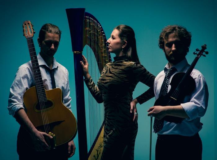 3. Harp Bazaar trio