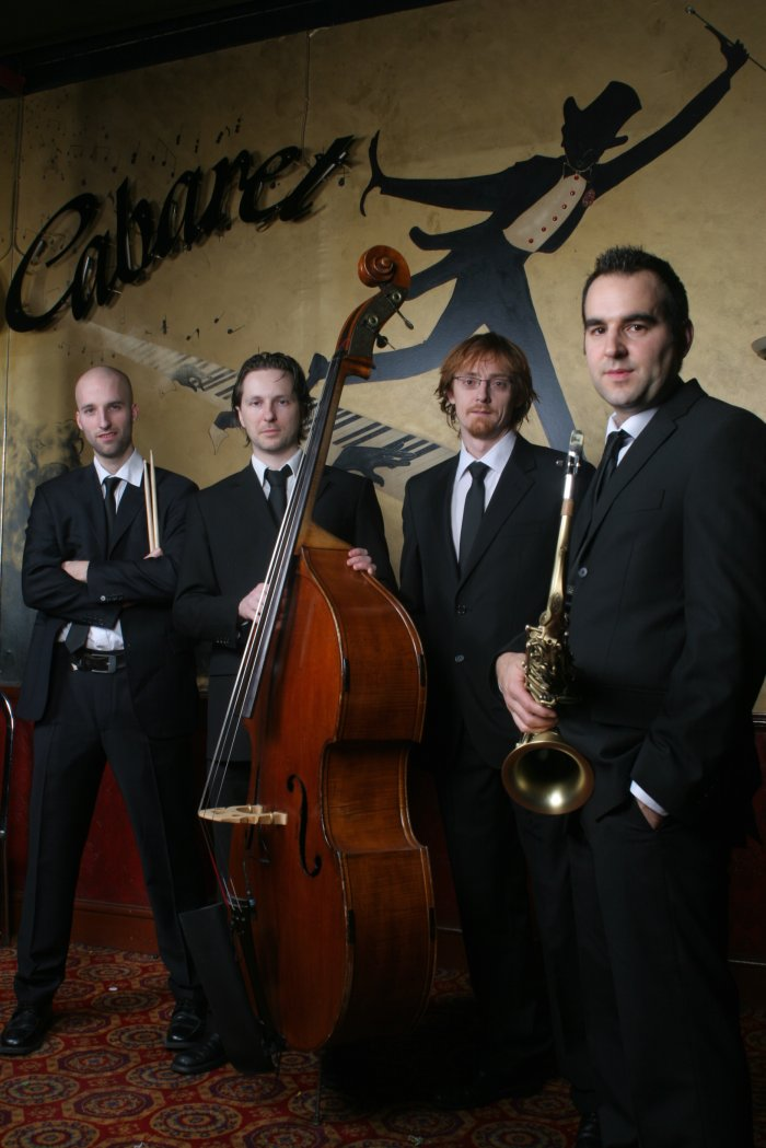 Haynes Jazz : photo : Haynes Jazz quartet line-up