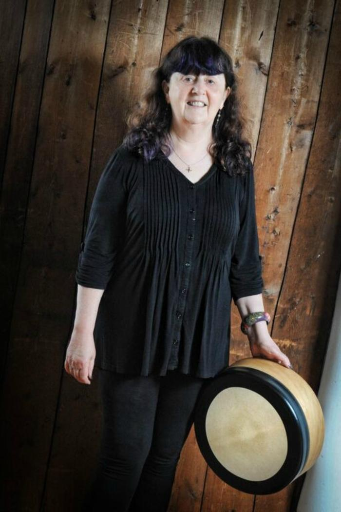 14. Heather with bodhran