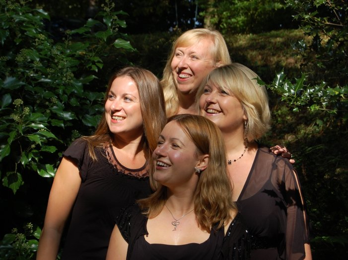Highly Strung Quartet : photo : Highly Strung String Quartet