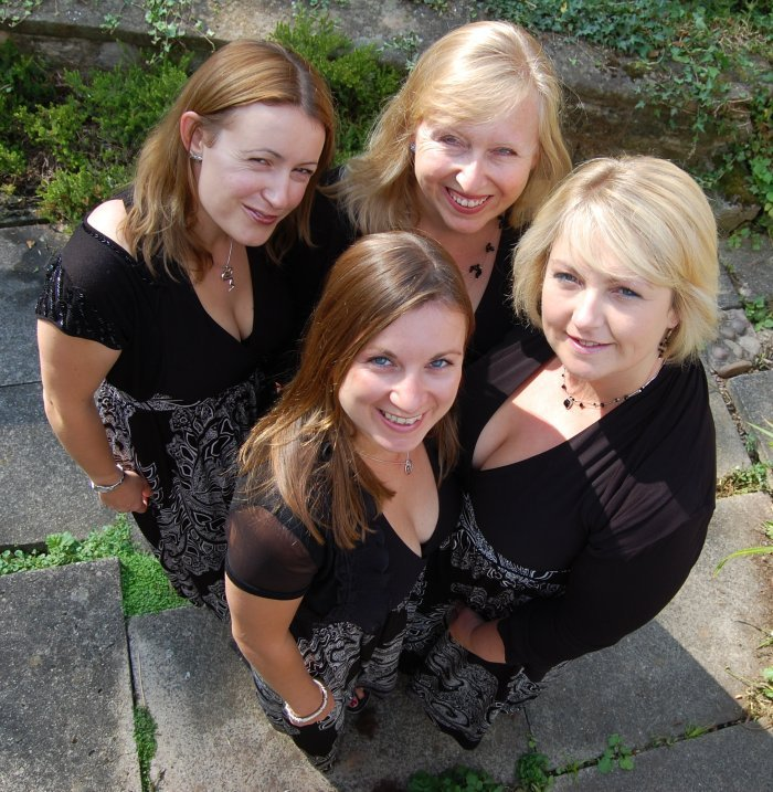 Highly Strung Quartet : photo : Highly Strung