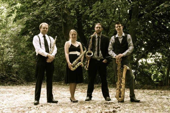 2. Hot Air Saxophone Quartet