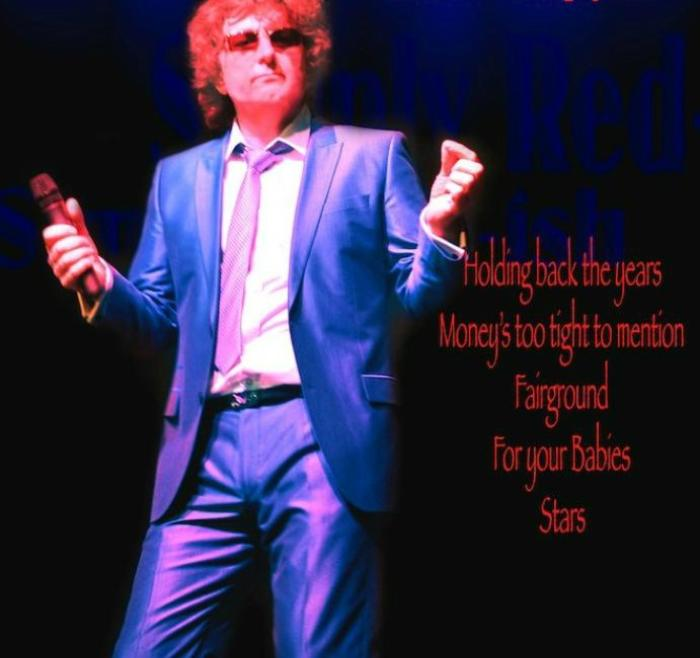 1. simply red