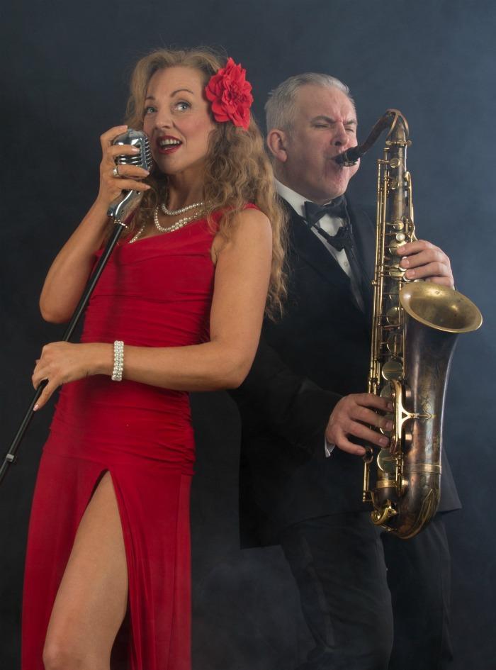 2. Ida accompanied by Stewart Wilson on Sax