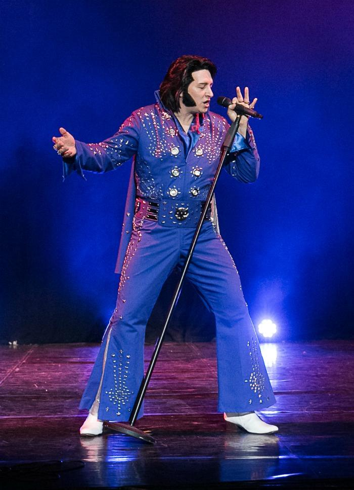 1. James Burrell as Elvis