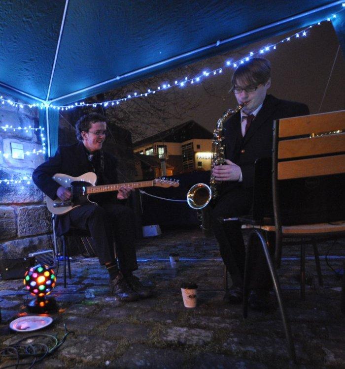 2. Guitar Sax Duo