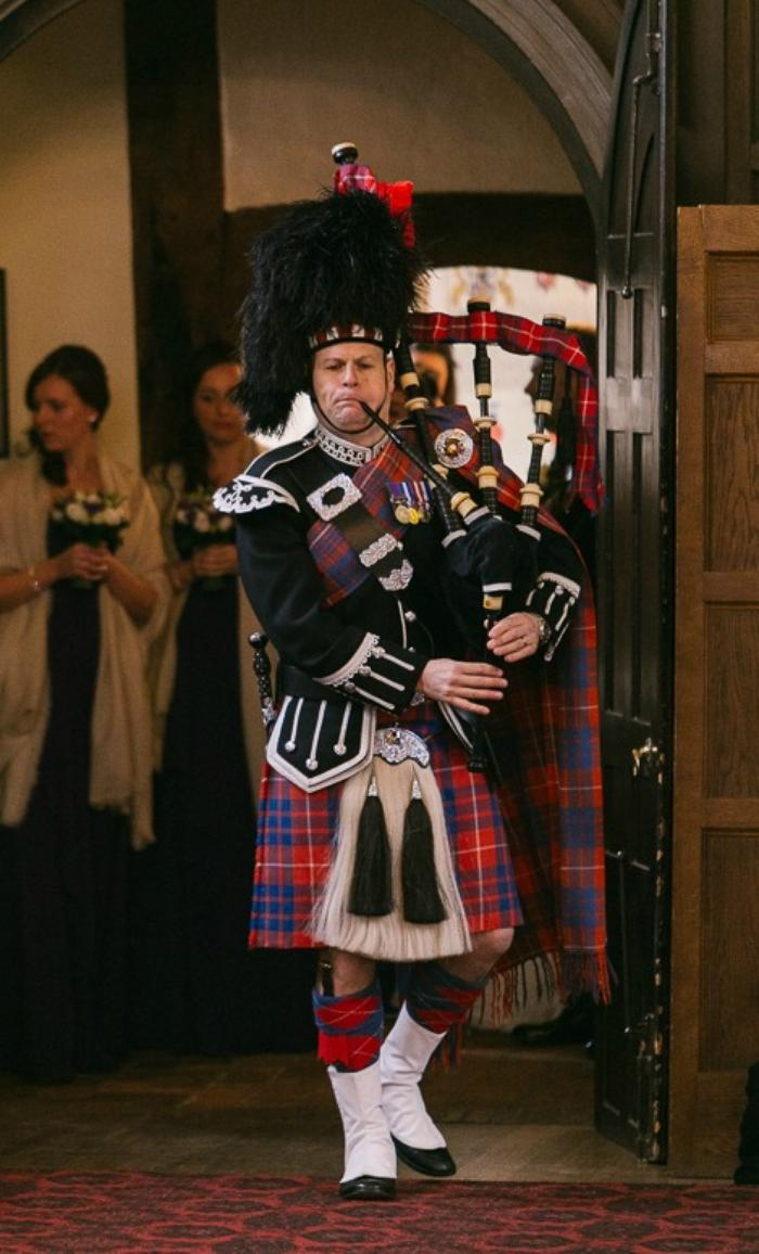 Jim Hall - Solo Bagpiper : photo : Jim Hall