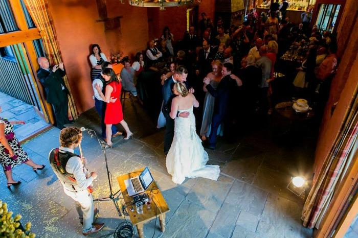 4. First Dance at The Barn at Brynich, Powys