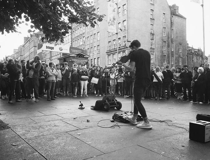 4. Street Performing
