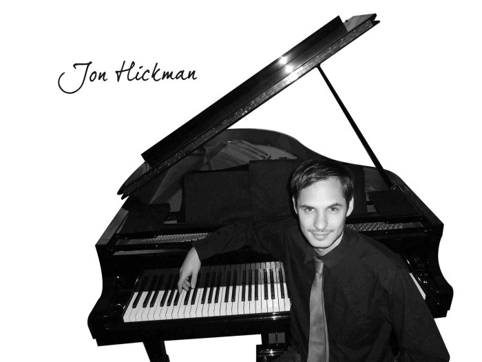 Jon Hickman : photo : Jon & piano