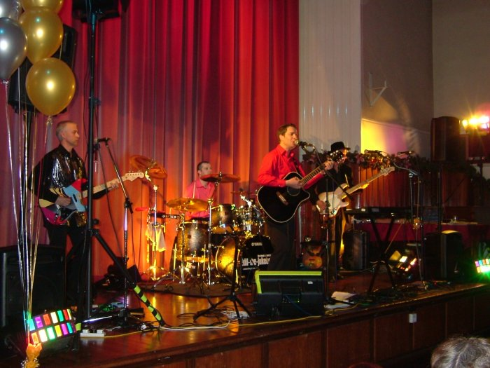 Kill The Jukebox : photo : Charity Gig Bury Town Hall
