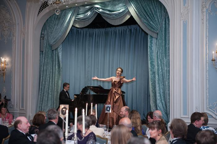 8. Performance at 2015 Opera Awards, Savoy Hotel London