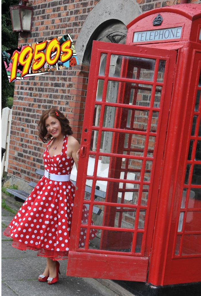 1940s/1950s Tribute : photo : Lisa Martin 1950s tribute show