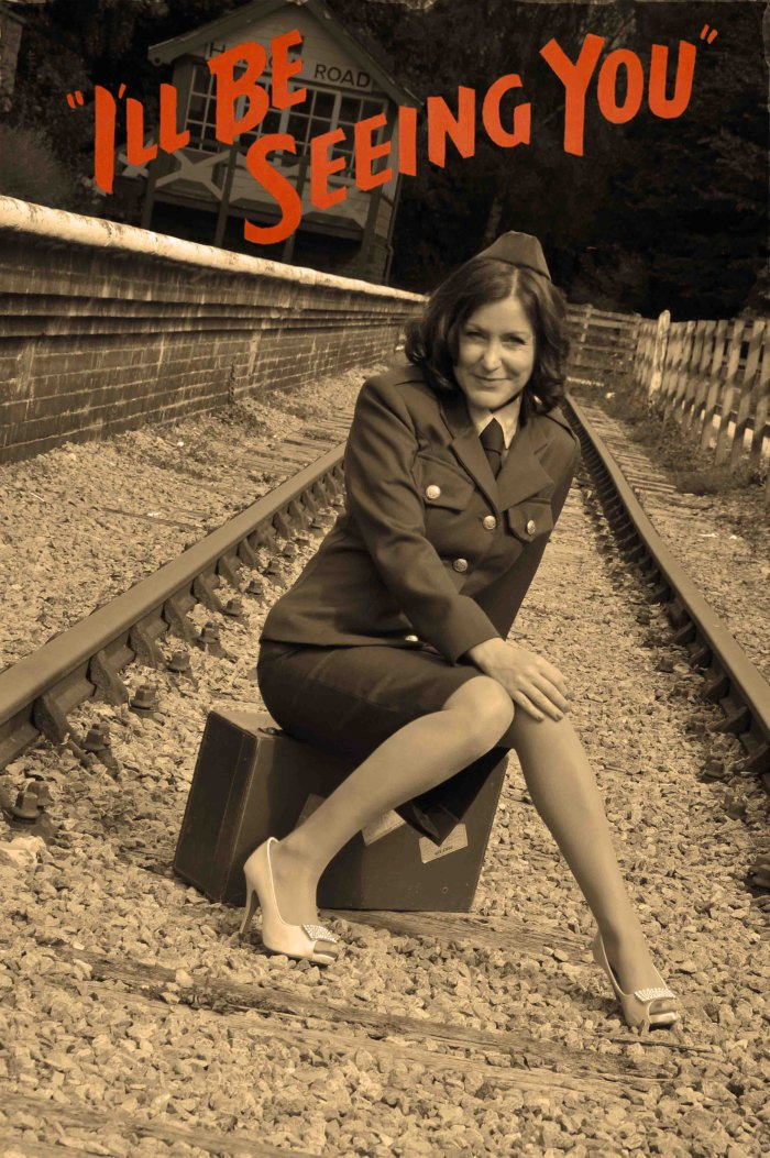 1940s/1950s Tribute : photo : I'll be seeing you