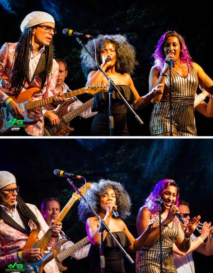 3. Le Freak - Disco band &Tribute to CHIC