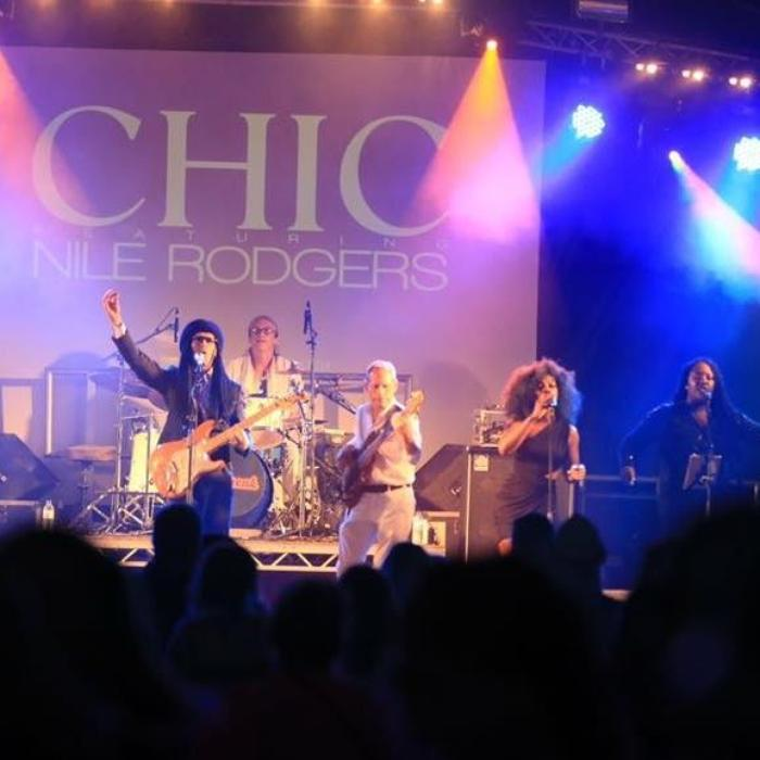 1. Le Freak - Disco band &Tribute to CHIC