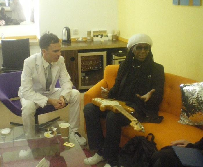14. Thumbs up from Nile Rodgers