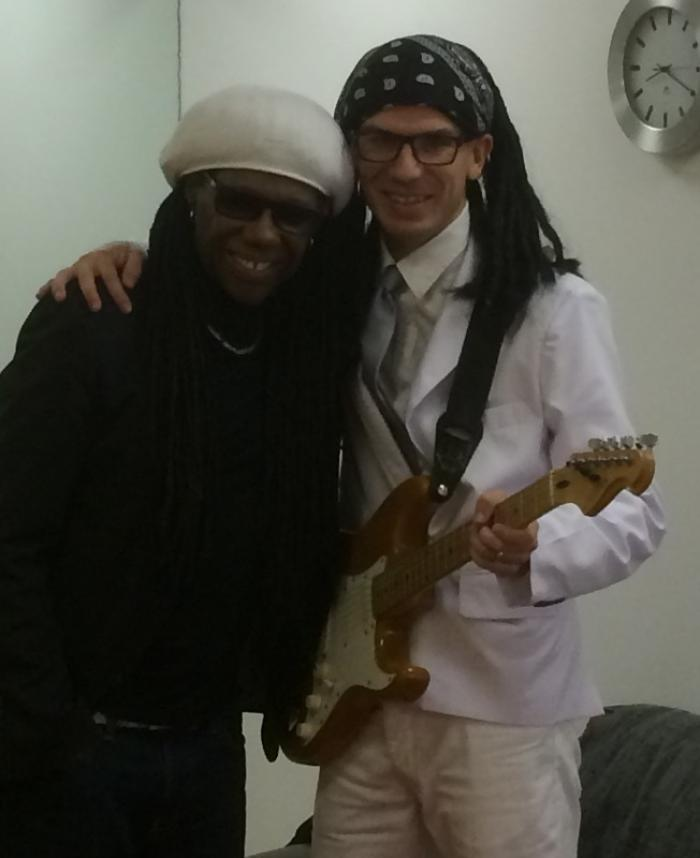15. Thumbs up from Nile Rodgers