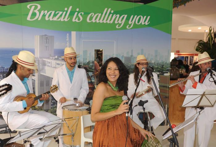 5. Sambaviva at the Excel Centre for the Brazilian Embassy