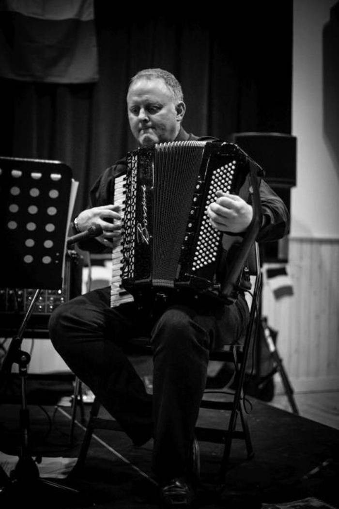 4. Accordion player