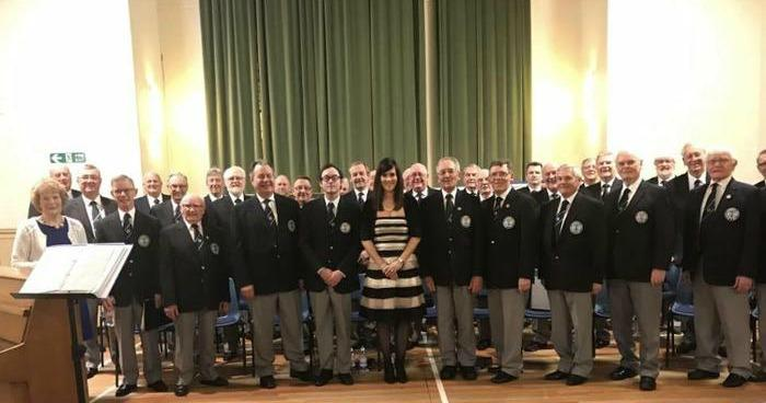 2. As guest soloist with a Male Voice choir