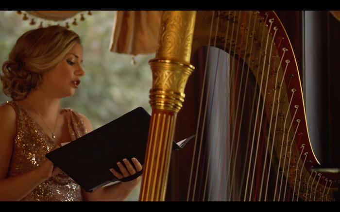4. Wedding Ceremony with Harp