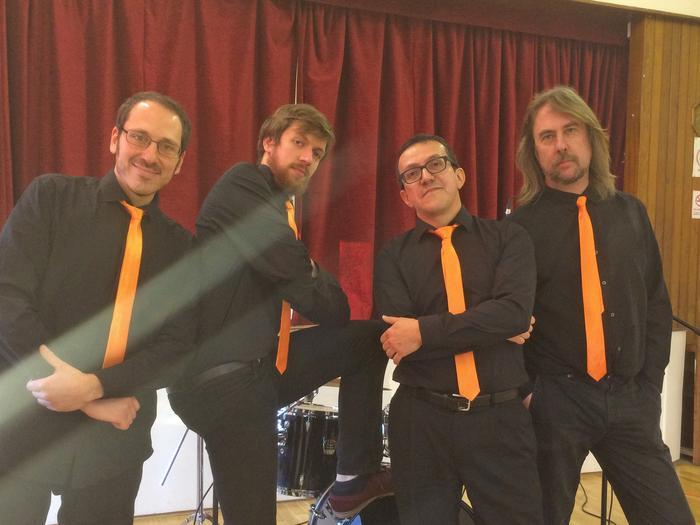 1. Maracumbia Tropical band
