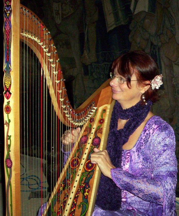3. Celtic harp