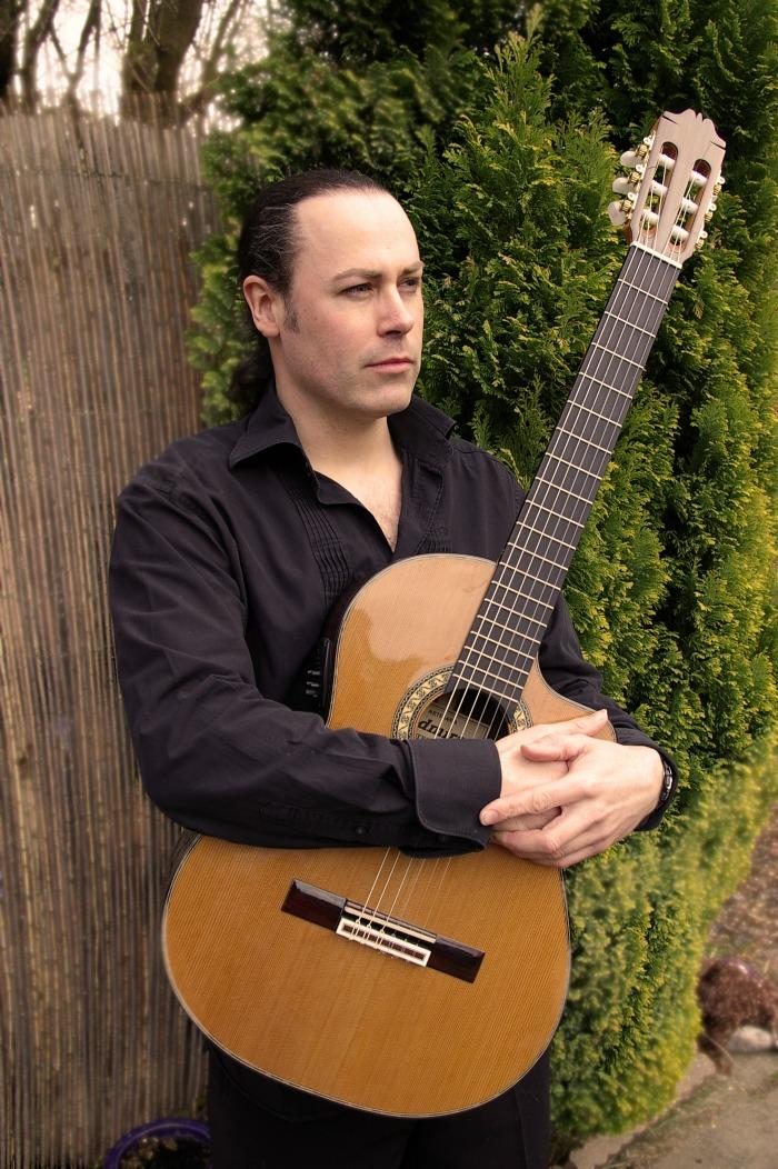 2. Martyn with Spanish Guitar