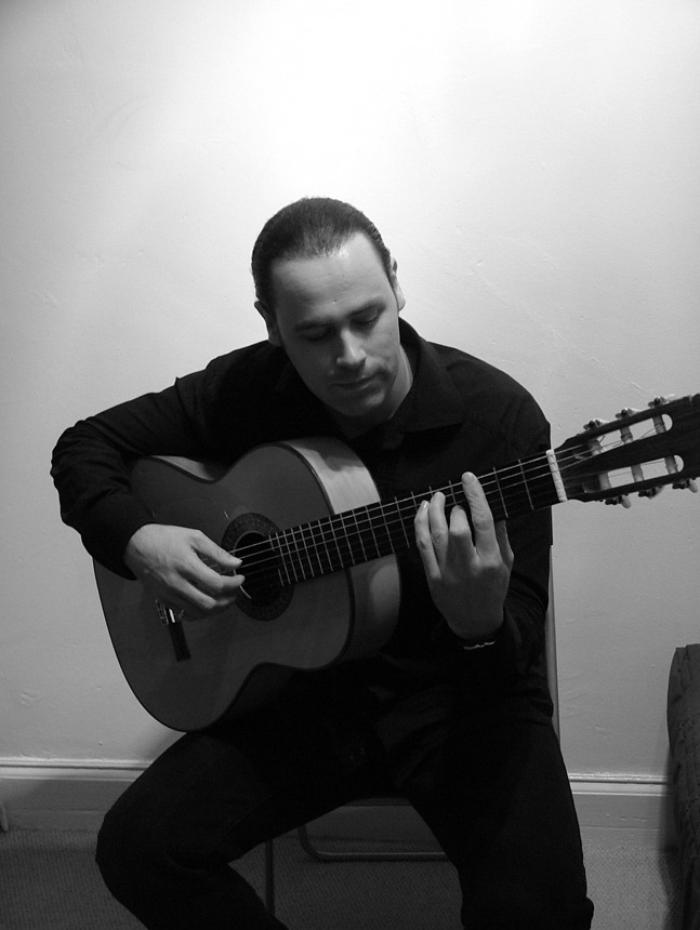 7. Martyn Playing Flamenco Guitar