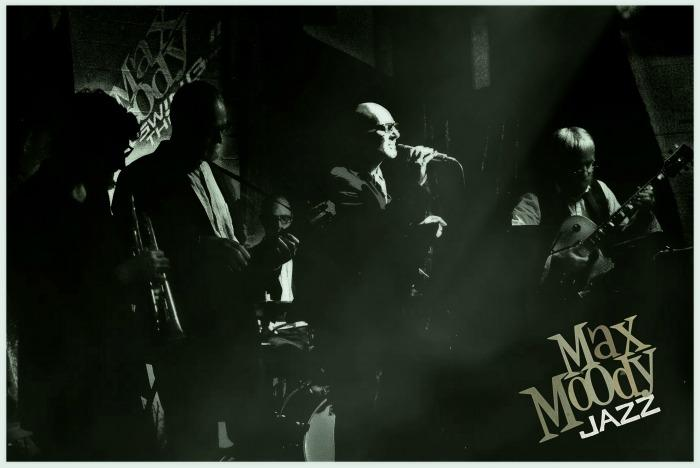 6. Max Moody Jazz - rather cramped jazz club gig