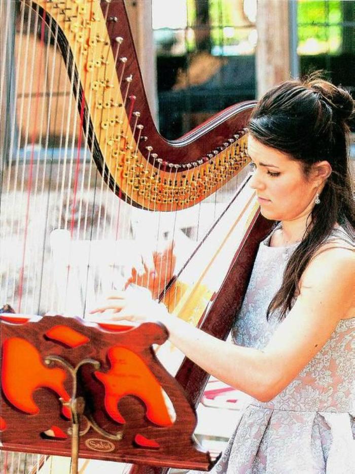 2. Megan Morris Harp