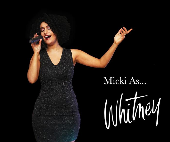 4. Micki As Whitney with logo