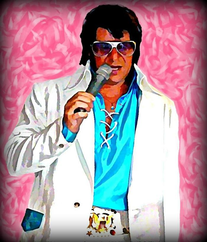 3. Mike as Elvis In Concert