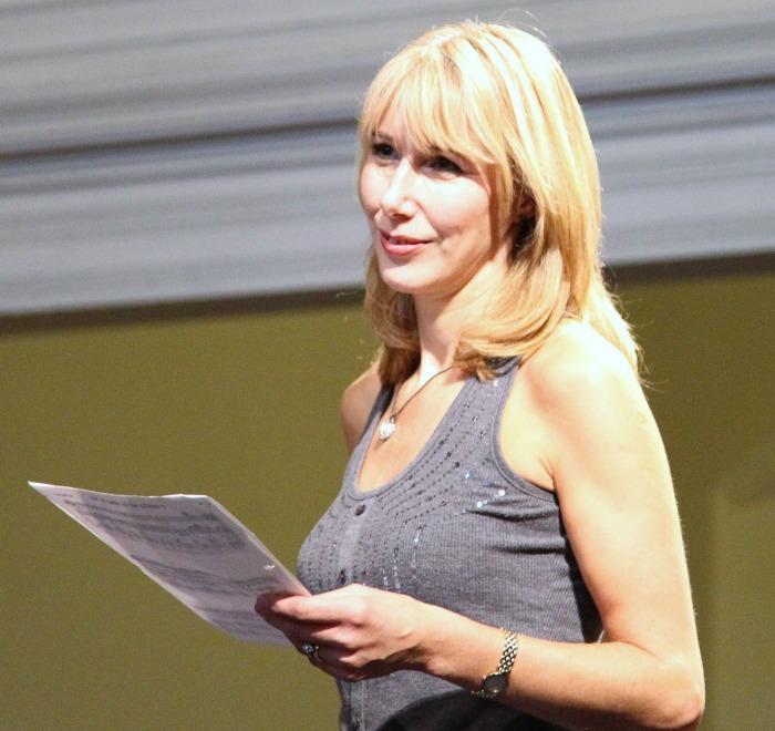 3. Moira in rehearsal