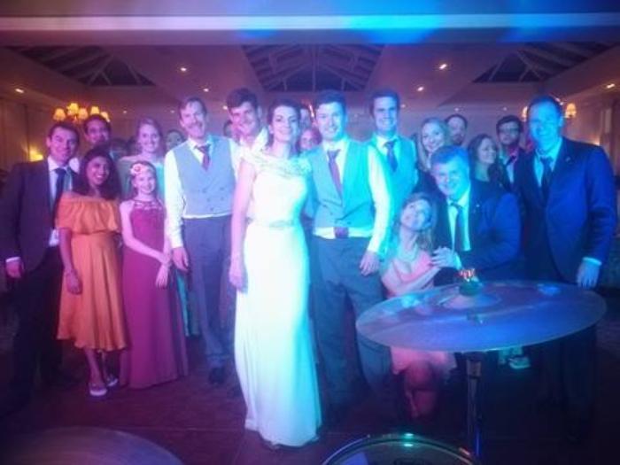 9. Wedding Crowd
