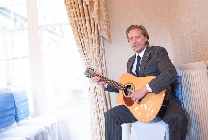 4. Luke Palmer - Classical Guitarist (Wedding at Otterburn Castle)