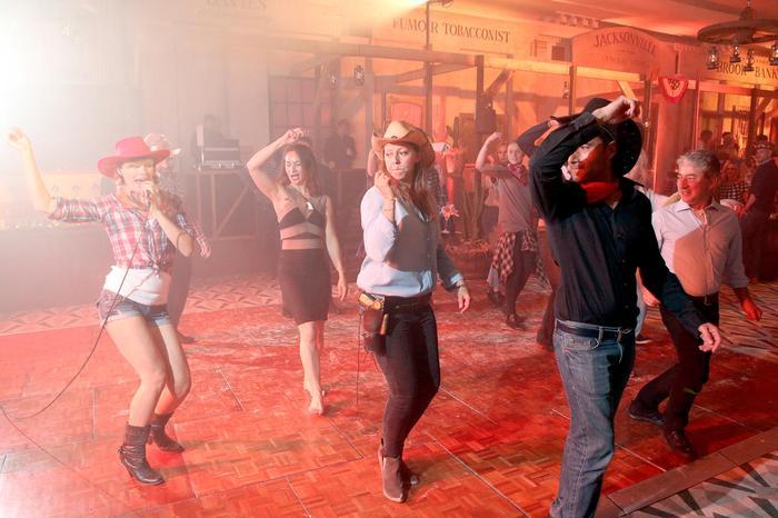 5. Line dancing