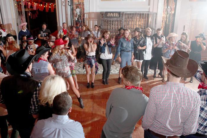 9. Barn dance calling