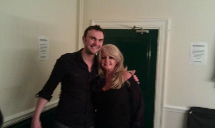 3. Phil with Bonnie Tyler