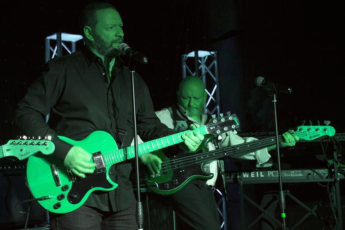 7. Green guitars