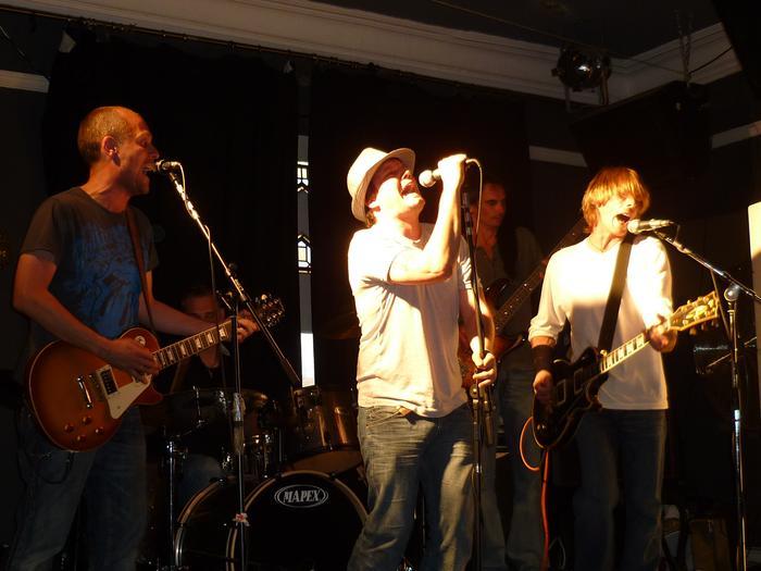 7. ....Neil and Jim laying down harmonies....