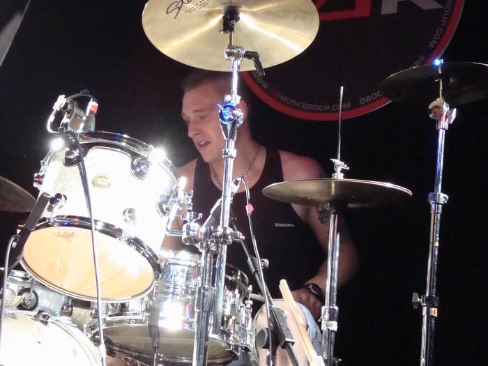 9. .... Bash on drums...