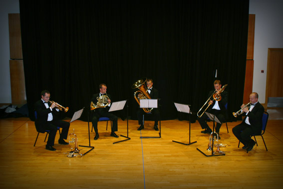The Regal Brass Quintet : photo : None