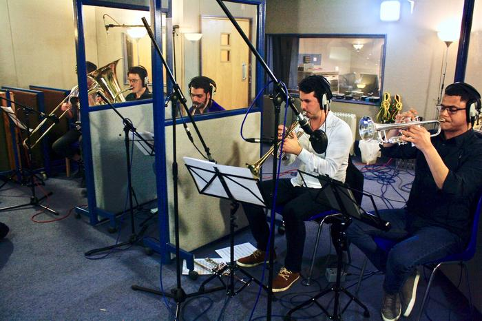 5. All Horns recording