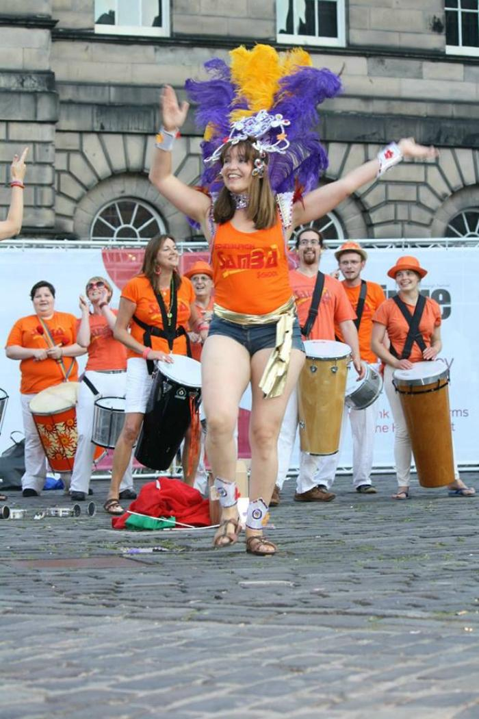 The Samba School : photo : TESS Edinburgh Fringe