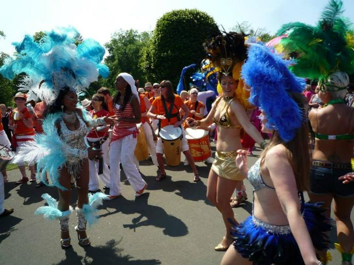 The Samba School : photo : TESS Glasgow West End Parade
